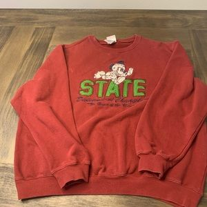 Vintage Mickey Mouse State crewneck